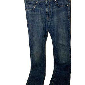 Levis Silver Tab Slim Straight Leg Flap Pockets 34